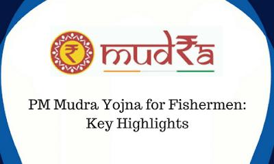 Mudra Loan Scheme for Fishermen