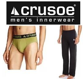 Crusoe Men's Innerwears – Flat 50% Off + Extra 20% Off @ Amazon