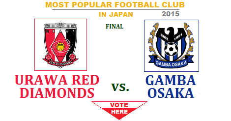 Global Vote Urawa Red Diamonds Vs Gamba Osaka Final