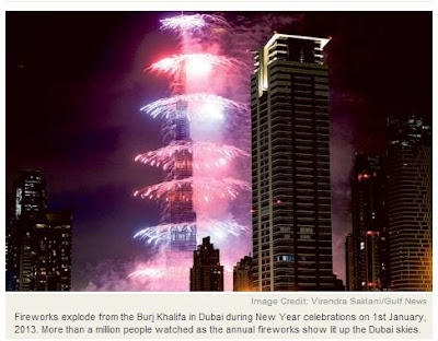 New Year Photo from GulfNews