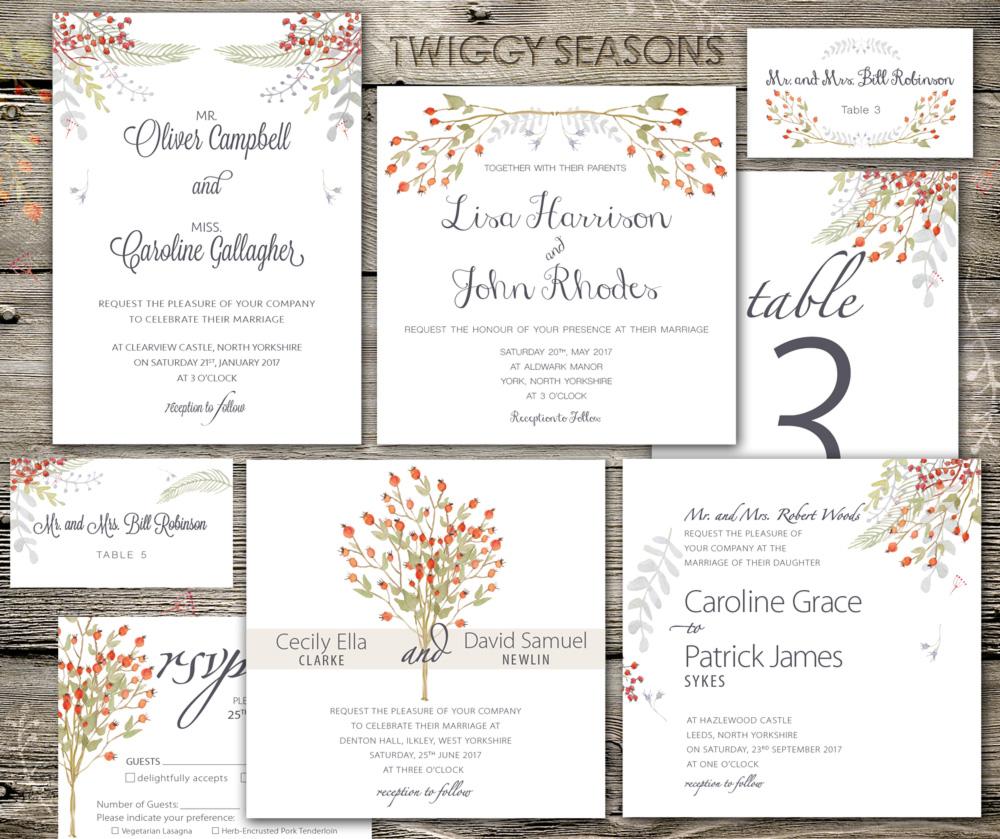 flit & fly: Bespoke Wedding Stationery - Beautiful Design