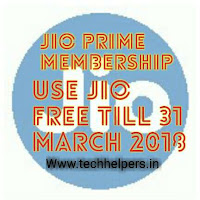 Jio Prime membership use Jio till March 2018