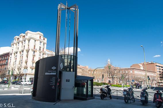 Estacion fantasma de Chamberi. Madrid