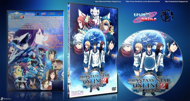 Phantasy Star Online 2 The Animation | 11/12 | Cover DVD | 720p | MEGA |