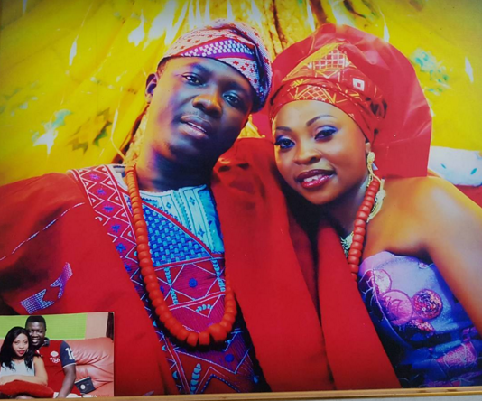 Nigeria popular comedian Seyi Law and his wife celebrate fifth wedding commemoration