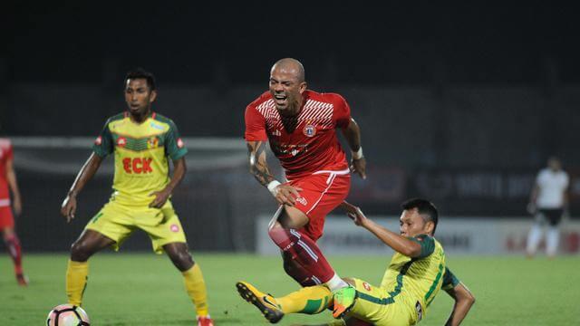 Persija Jakarta VS Kedah FA