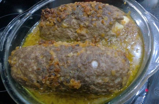 Rollo De Carne Rellena Al Horno
