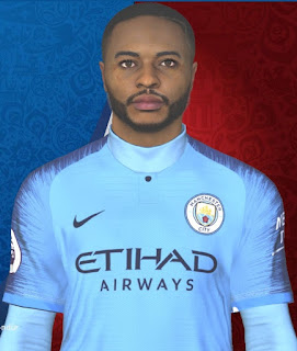 PES 2017 Faces Raheem Sterling by Facemaker Huseyn
