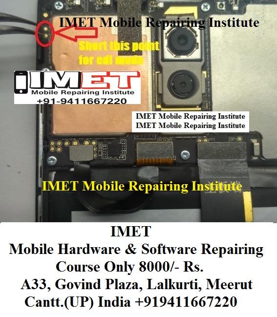 Meizu M6 Note (MSM8953) Test Point EDL Pinout Ways - IMET