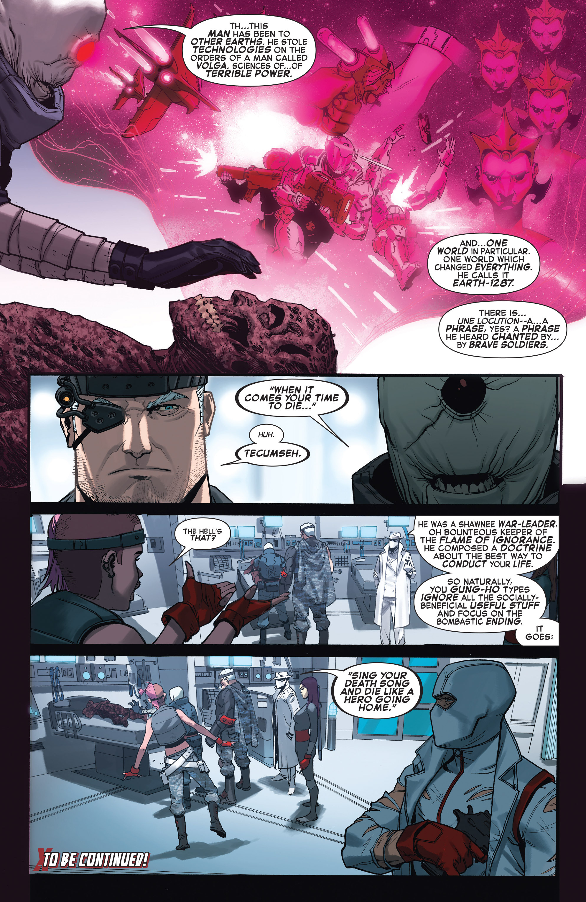 Read online X-Force (2014) comic -  Issue #4 - 22