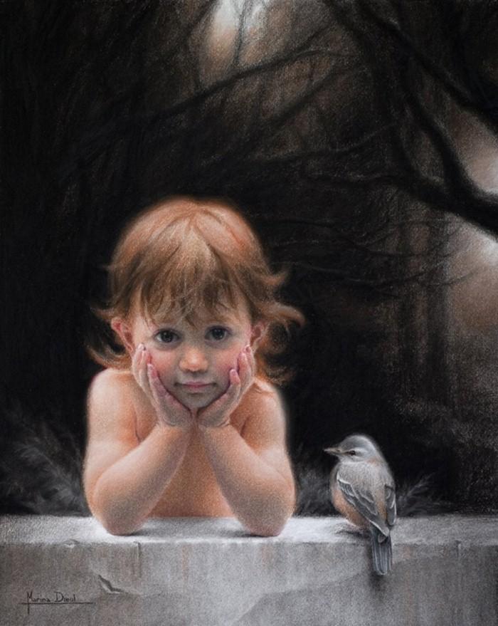 Современные французские художники. Marina Dieul 15
