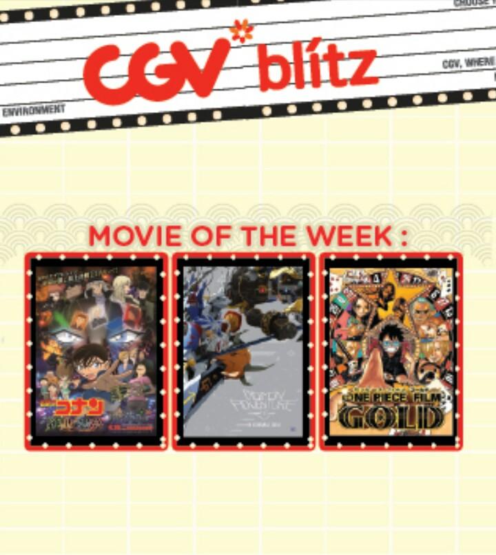 Promo Nonton Film Jepang di CGVBlitz Cuma Rp 15rb ...