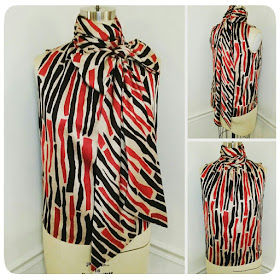 That 70s Style! Vogue 1127 Tie Neck Sleeveless Blouse - Erica Bunker DIY Style!