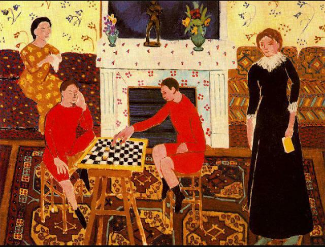 Retrato de familia de Matisse