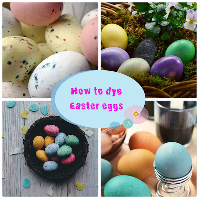 5 easy ways to dye Easter eggs