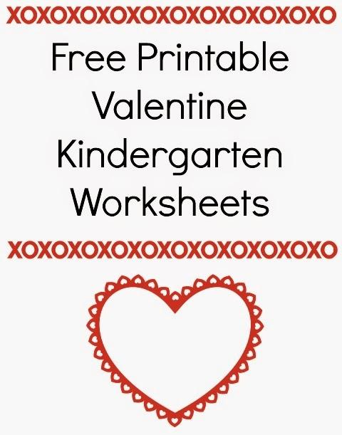 free printable valentine kindergarten worksheets planet weidknecht. Black Bedroom Furniture Sets. Home Design Ideas