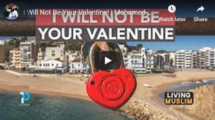 Muslims Do Not Celebrate Valentine