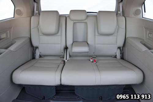 Hàng ghế sau Honda Odyssey 2016