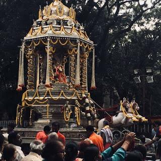 Karaga  Festival in Bangalore city