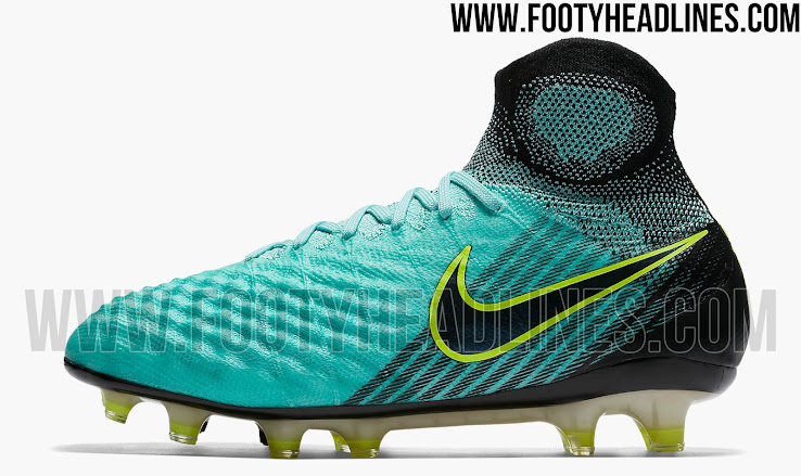 8d2cb1e13a16 This image shows the turquoise Nike Magista Obra 2 2017-2018 Women's  football boots.