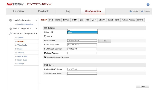 Cara setting IP kamera Wifi Hikvision
