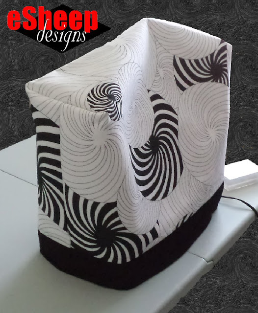 Sewing Machine Cover crafted by eSheep Designs