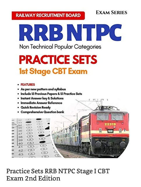 Practice sets RRB NTPC stage 1 CBT Exam 15