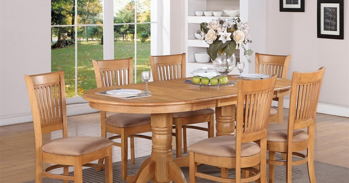 Cheap ways for making oak dining room sets luhomes for Cheap dining chairs set of 8