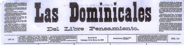 Cabecera de Las Dominicales del Libre Pensamiento