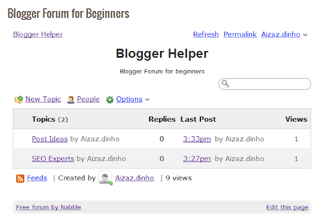 add forum blogger