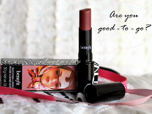 ♥ Benefit Silky-finish Lipstick in shade Good-to-go