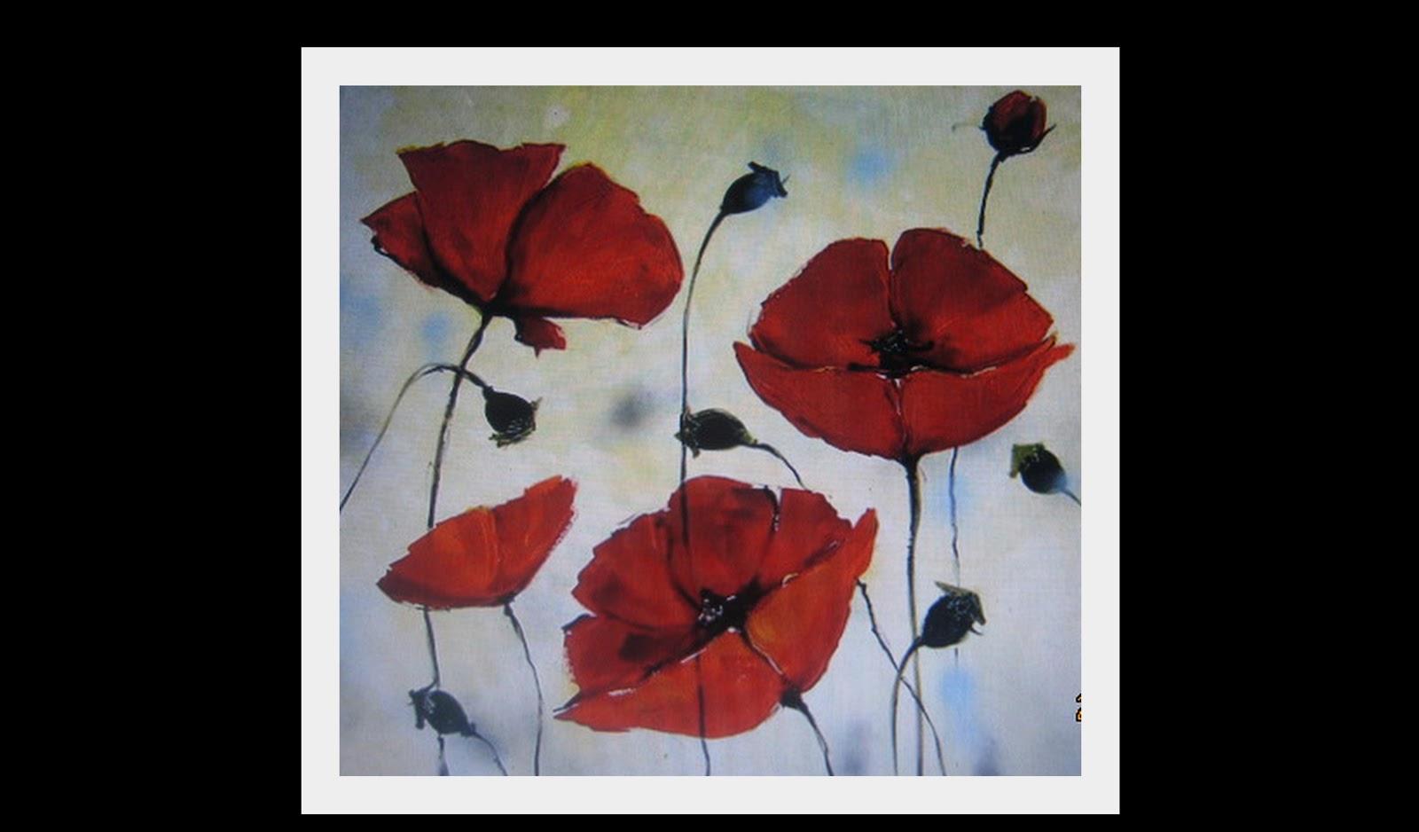 17 Koleksi Terbaru Gambar Bunga Mawar Merah Di Kanvas