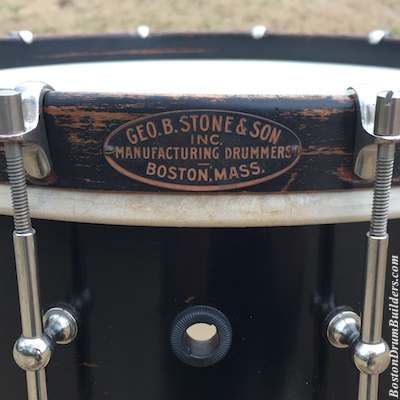 Geo. B. Stone & Son Black Beauty Separate Tension Snare Drum