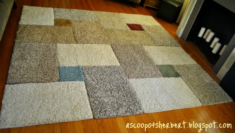 Large Area Rug Diy For Under 30