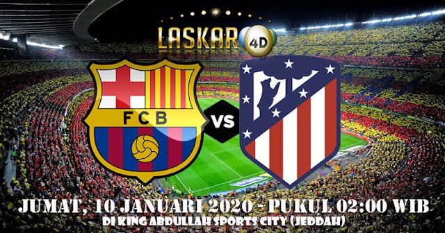 Prediksi Pertandingan Barcelona vs Atletico Madrid 10 Januari 2020