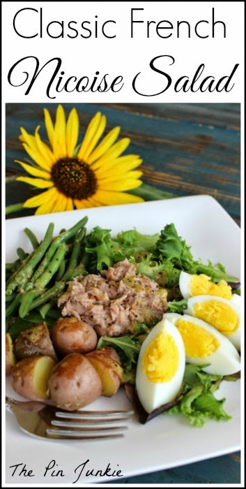 Classic French Nicoise Salad
