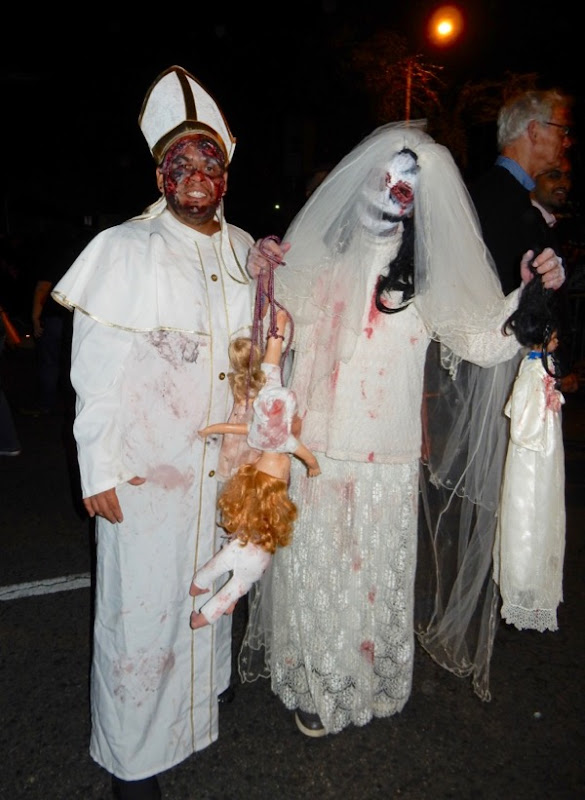 West Hollywood Halloween horror costumes