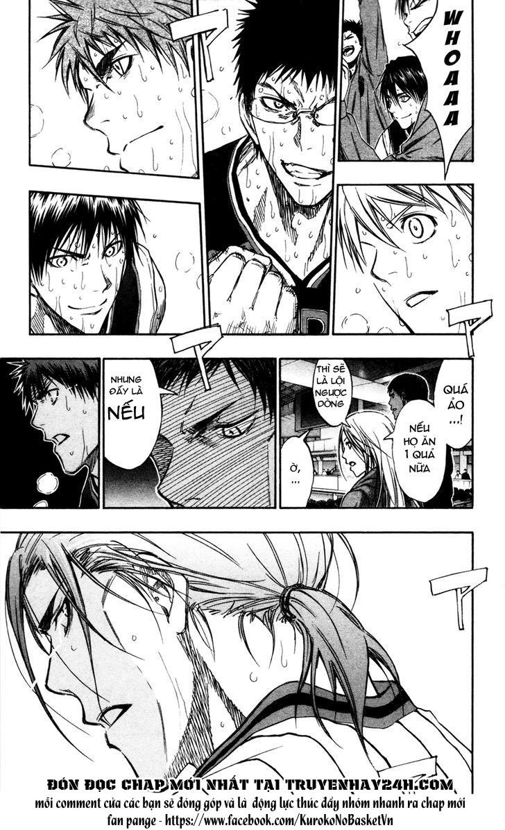Kuroko No Basket chap 167 trang 19