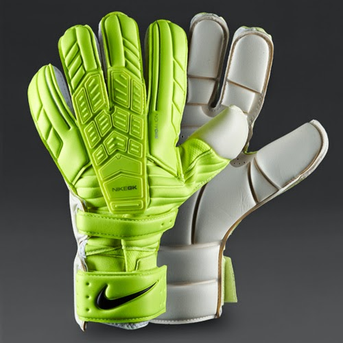 Using Colour With Confidence: Nike GK Confidence With Volt And White Colors