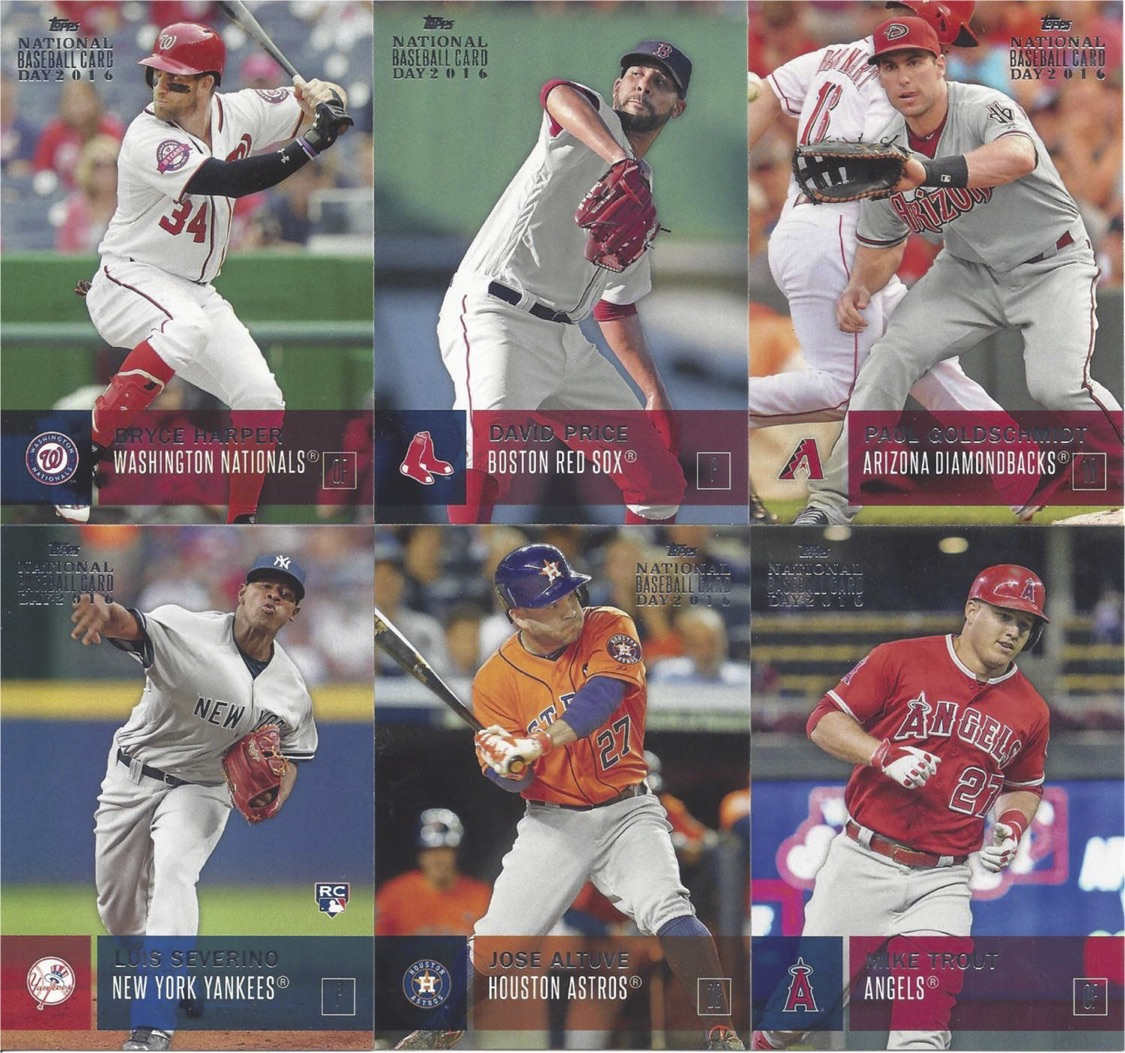 Arpsmiths Sportscard Obsession National Baseball Card Day 2016