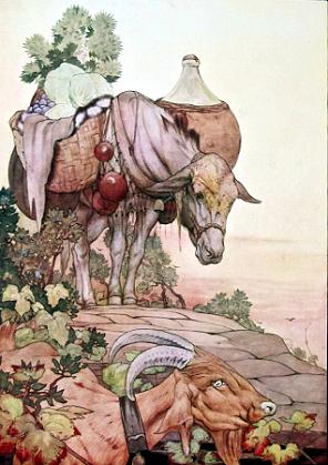 Aesop's Fables E. J. Detmold