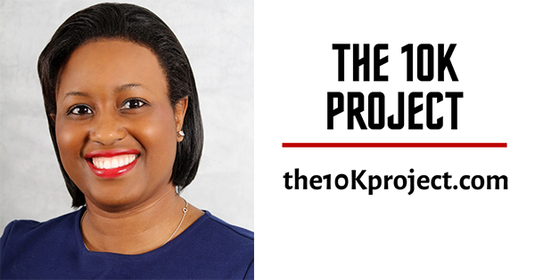 Cheree Warrick, a co-founder and CEO of The 10K Project