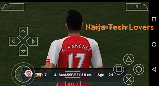 arsenal sanchez pes 2016 iso psp