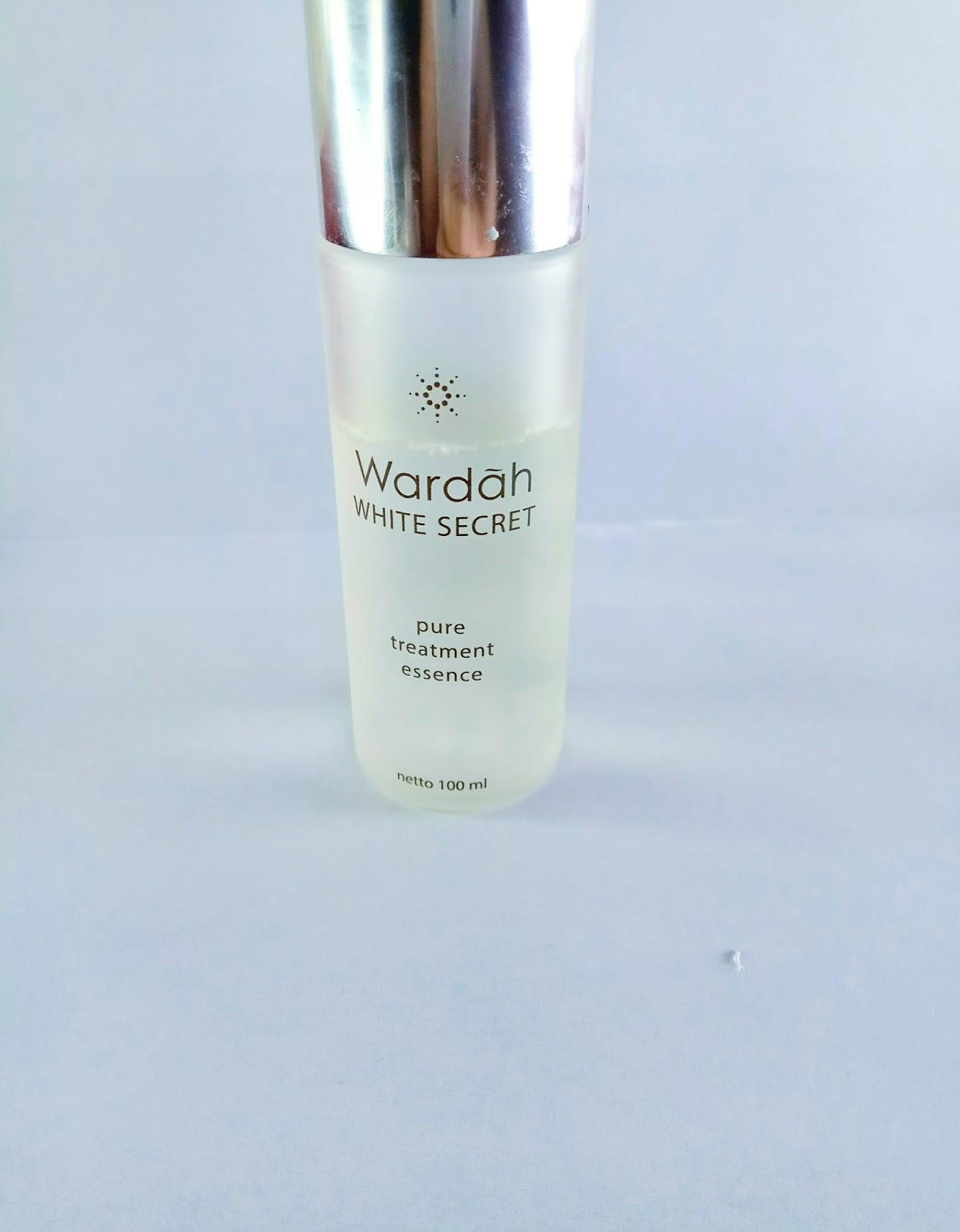 Under The Remote Wardah White Secret Pure Treatment Essence