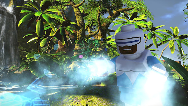 LEGO The Incredibles Frozone on Island