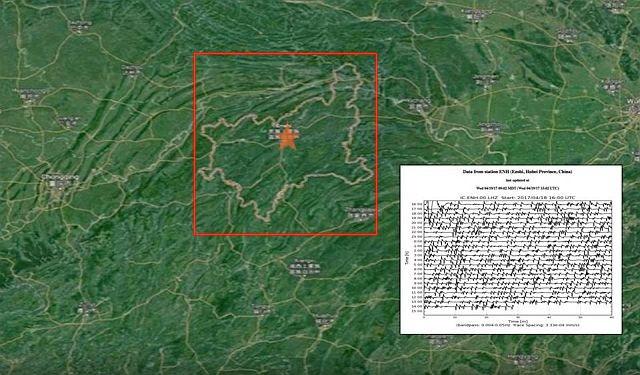 Strange Alien Frequency Waves Detected Near Ancient City Enshi - Enshi map