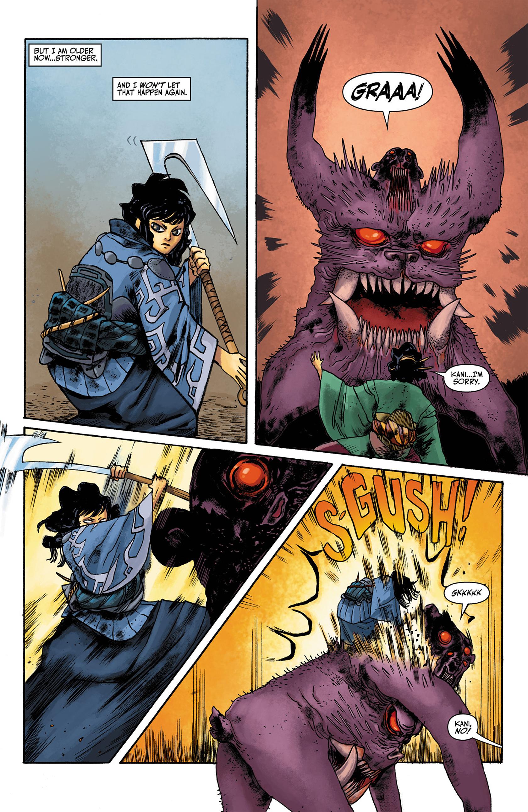 Read online Akaneiro comic -  Issue #1 - 9