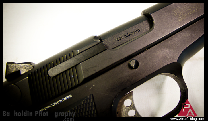 KWA 945 Compact, Airsoft Gas Blowback Guns, Airsoft GBB Pistol, KWA Prototype, Pyramyd Airsoft Blog, Bakholdin Photography, Airsoft Squared Social Network,