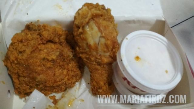 [Review] Ayam KFC Golden Egg Crunch