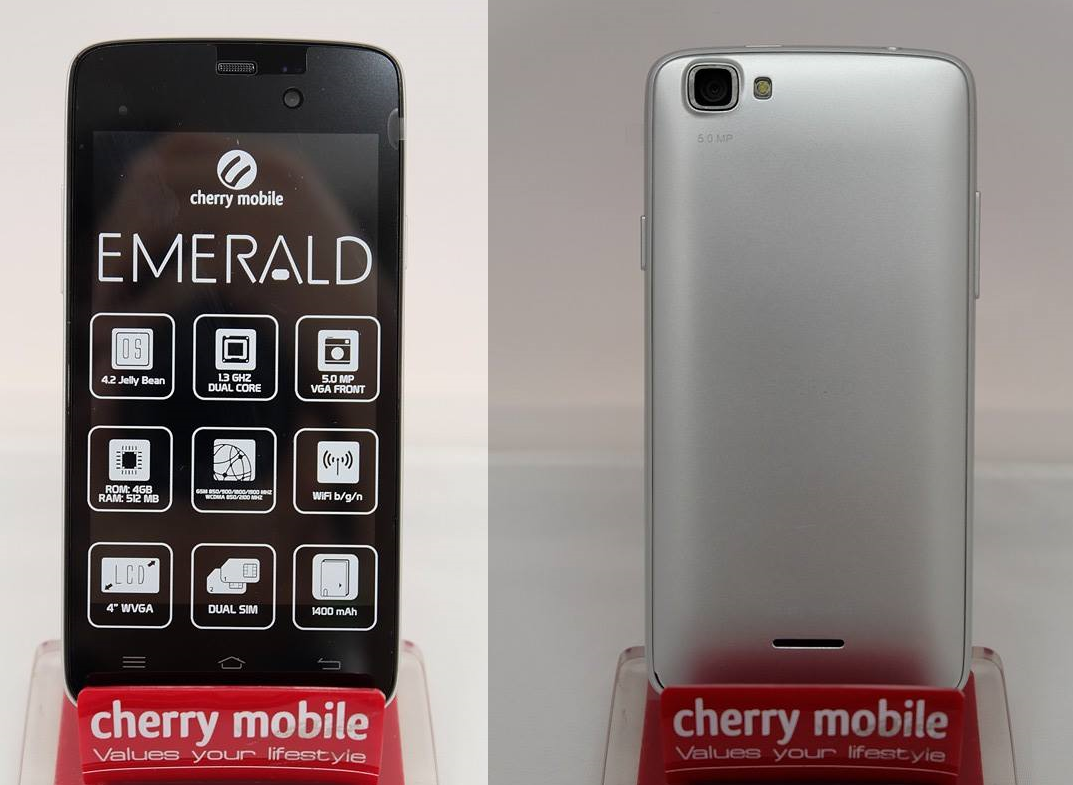 Hard Reset your Cherry Mobile Emerald and remove password
